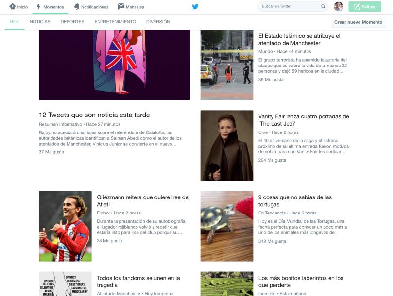 ¿Por qué los Momentos de Twitter te Pueden Ayudar en tu Estrategia de Contenidos? 2_Post Blog Missis Marketing